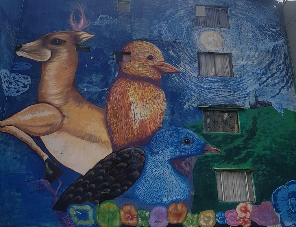 Mural - Graffiti Tour in Bogota