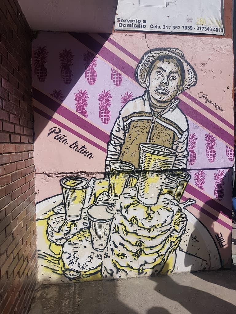 DJ Lu - Juegasiempre - APC - graffiti tour in Bogota