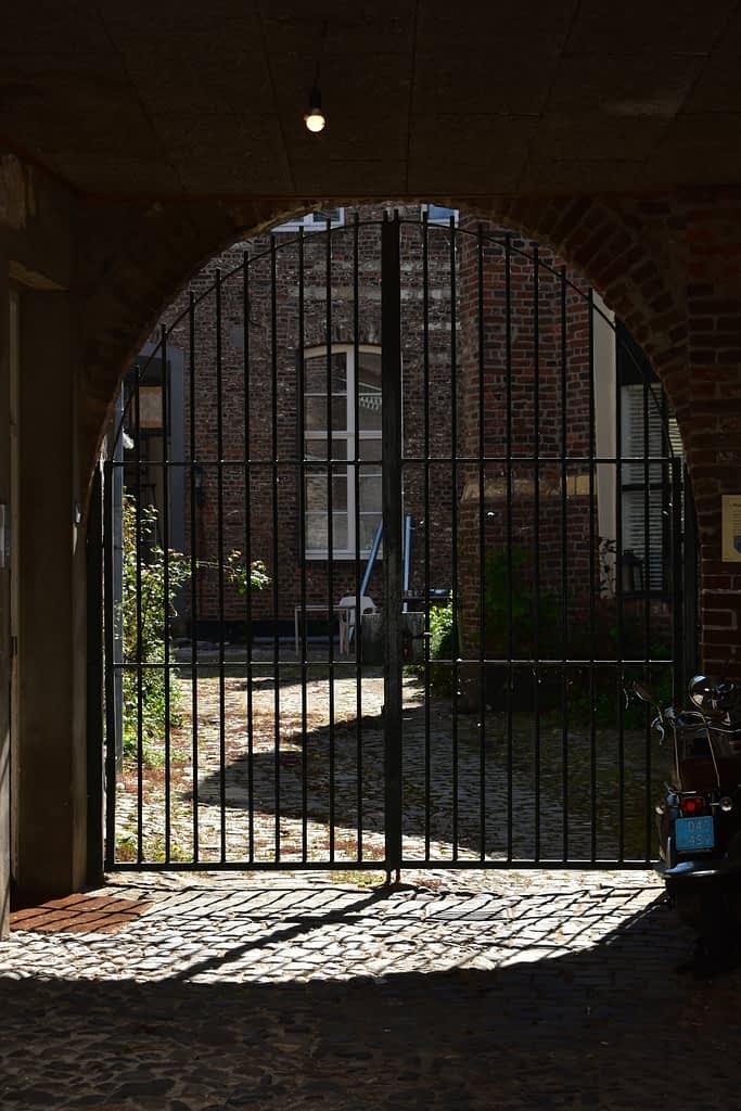 De grens tussen privé en de openbare ruimte
