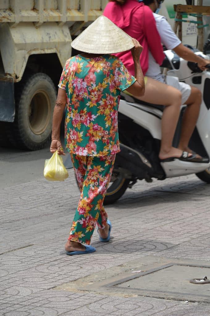 Pyjama fashion flower pattern